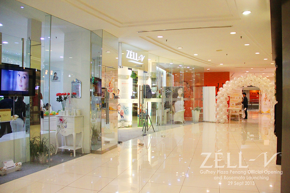 ZÉLL-V Gurney Plaza, Penang Official Opening on 29 Sept 2013