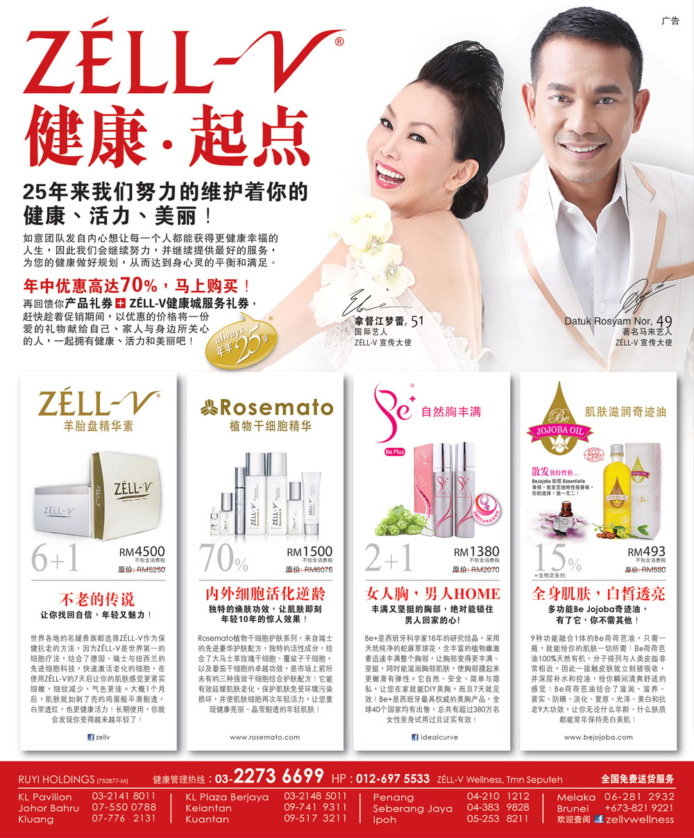 ZÉLL-V Offer @ Sin Chew (Jun' 16)
