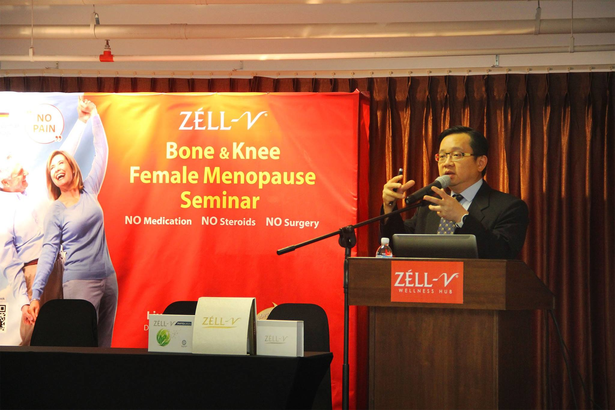 ZÈLL-V Bone & Knee and Female Menopause seminar